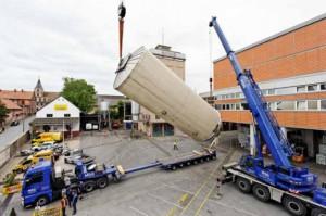 Michel Haag vient d'acquérir huit nouveaux tanks de fermentation extérieurs