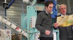 Sébastien Dupont, directeur export de Nature et Harmonie, et Bernard Stentzel, conseiller du commerce extérieur. Photo J.D.K./L'Alsace