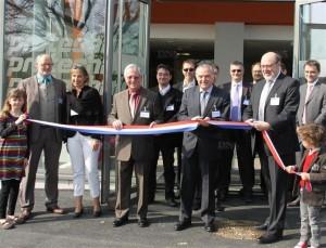 Protechnic a inauguré son nouveau siège social, rue des Fabriques à Cernay. Photo DNA